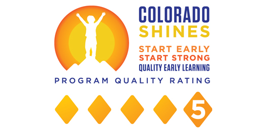 Auraria Early Learning Center's Colorado Shines Level 5 Certificate