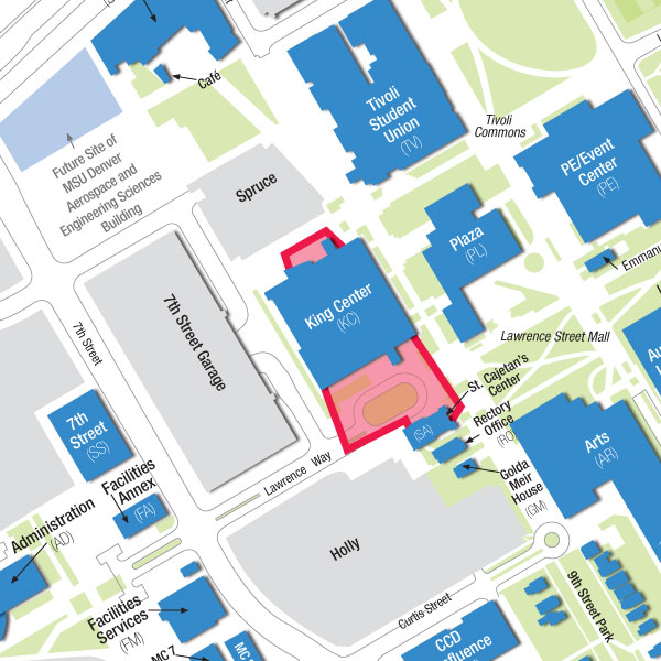 Impacted Areas On Campus