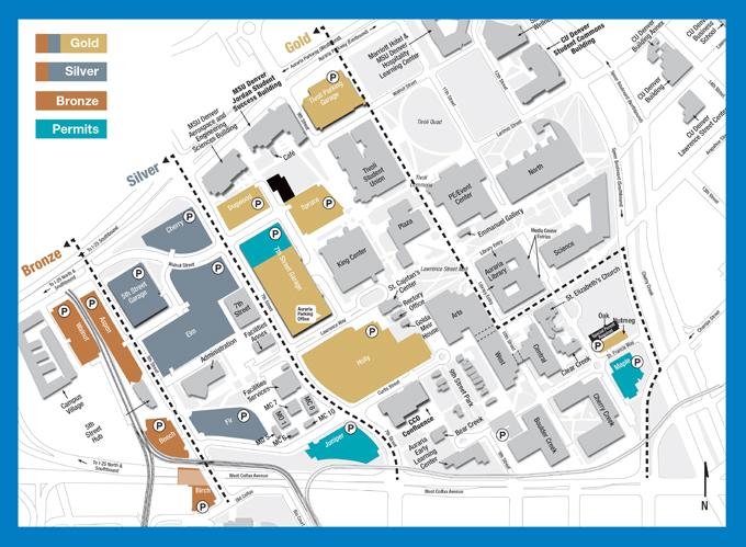 metro state university denver campus map Passport Program Ahec metro state university denver campus map