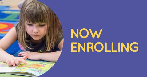Enroll your child for preschool or kindergarten at the Auraria Early Learning Center