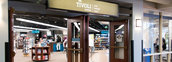 Entrance to Tivoli Station