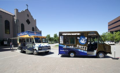Local Food Vendors Come to Campus for Food Truck Mondays