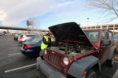 Flat Tire? Car Need a Jump? Call the Campus Motorist Assistance Program
