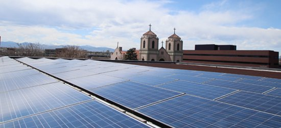 Student Fees Fund Solar PV Panels for Clean Electricity